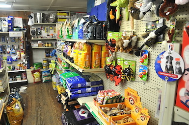 Pet Food and Toys